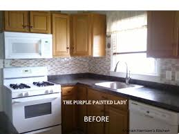 Do Your Kitchen Cabinets Look Tired The Purple Painted Lady - Painted kitchen cabinet doors