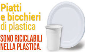 bicchieri di plastica sono riciclabili arce raccolta differenziata comune in pressing per farla