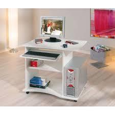 bureau informatique ferm meuble informatique ferme occasion table de lit a roulettes