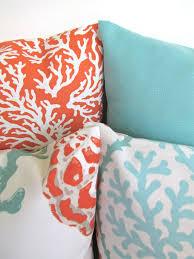 Outdoor Pillow Slipcovers Coral Throw Pillows Coral Throw Pillow Covers Outdoor Pillow