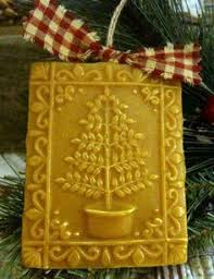 i these bees wax ornaments you could make a lot in a