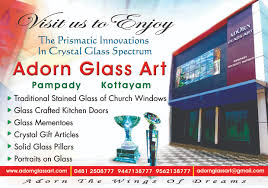 adorn home decor adorn glass print in kottayam home decor furnishing flowers