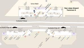 san jose airport on map san jose airport limo service elite limousine