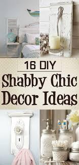 DIY Shabby Chic Decor Ideas