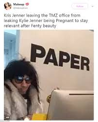 Being Pregnant Meme - internet bashes news that kylie jenner is pregnant daily mail online