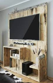 best 25 pallet entertainment centers ideas on pinterest