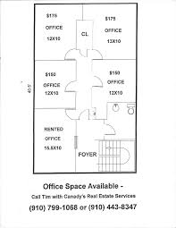 Floor Plan Services Real Estate by Office Space For Rent At Carolina Place Canady Real Estate Services