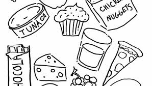 printable coloring pages picnic food picnic coloring pages for
