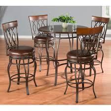 5 Piece Pub Table Set American Heritage Delato 5 Piece Pub Table Set W Bella Counter