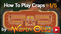 Craps Table Odds Craps Wizard Of Odds Wizard Of Odds