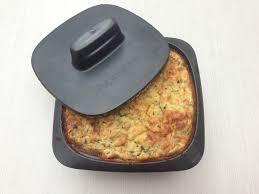 recette de cuisine tupperware terrine de courgettes au cumin et à la menthe tupperware sur