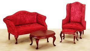 victorian living room set from fingertip fantasies dollhouse