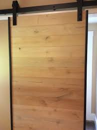 what can we do the barn door we made for our bathroom has warped