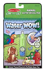 buy melissa and doug water wow coloring book animals online at low
