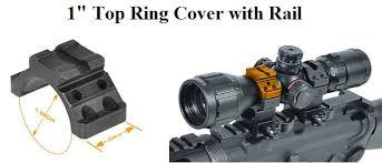 top scope rings images 1in top ring cap with picatinny rail lk522 jpg