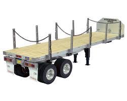 model semi trucks 1 14 semi truck flatbed trailer by tamiya tam56306 cars