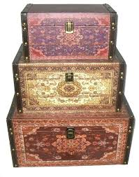 style earth tones decorative storage boxes brown