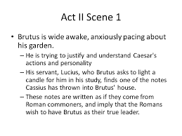 julius caesar act 2 and ppt video online download