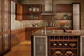 kitchen backsplash for cabinets popular kitchen backsplash cherry cabinets black counter kitchen