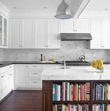 gray brick backsplash great home decor gray and white backsplash