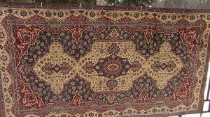 original vintage divandec carpet from germany gdr era like new