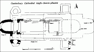 canterbury cathedral floor plan ad 1000 canterbury cathedral current archaeology