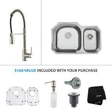 Kitchen Sink And Faucet Combo Sink U0026 Faucet Combinations