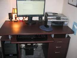 Personal Computer Desk Techni Mobili Computer Desk For Small Spaces U2014 Home Design Ideas