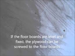 how to plywood to a bathroom floor to stop grout breaking