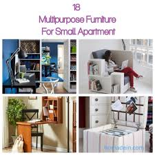 18 multipurpose furniture for small apartment homadein