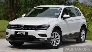 tiguan volkswagen driven volkswagen tiguan reviewed in malaysia striking middle