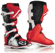 acerbis motocross gear acerbis x pro v motocross boots offroad red white installing