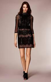 vintage lace applique mini dress karen millen