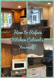 how do you reface kitchen cabinets yourself diy kitchen cabinet refacing the easy way to transform your