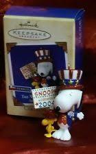 hallmark peanuts ornaments ebay