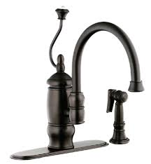 mid century oil rubber bronze kitchen faucet u2014 peoples furniture