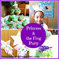 princess frog birthday party