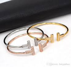 double bangle bracelet images 2017 cubic zirconia two letter t shape bangles design copper 18k jpg