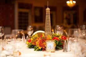 eiffel tower centerpiece fall wedding reception eiffel tower invites vintage wedding theme