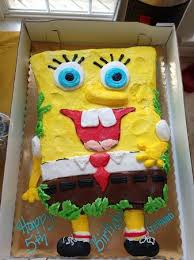 sponge bob cake spongebob cake for my s birthday picture of connie s cakes