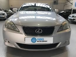 lexus is ncap lexus is 2 2 220d 4dr manual for sale in wirral parks motor company