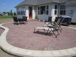 Herringbone Brick Patio Build Contended And Stunning Patio And Pathways With Best Brick
