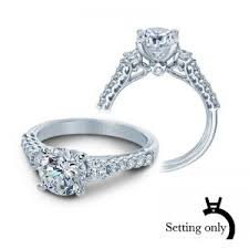 2ct engagement rings verragio wedding bridal collection timeless classic engagement