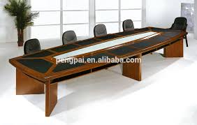 Big Meeting Table 4 8m Big Size Mdf Veneer Paper Meeting Table With Pu Buy Paper