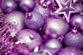 purple christmas tree decorations pictures reference
