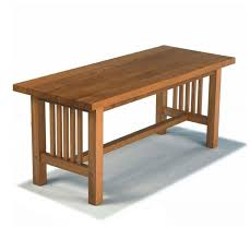 arts and crafts table for new reproduction arts crafts movement mission style oak coffee tables