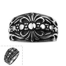 aliexpress buy new arrival cool charm vintage men s top quality vintage jewelry 316l stainless steel crown charm