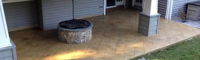 Exterior Epoxy Floor Coatings Decorative Concrete Basement Floor Osage Beach Mo Acid Stained W
