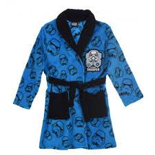 robe de chambre wars robe de chambre wars bleu taille de 4 à 10 ans achat