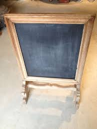 decorations french portrait rectangular oak chalkboard frame